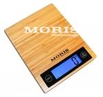 Elektroninės bambukinės virtuvinės svarstyklės BVI-01