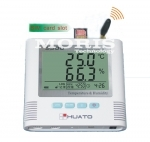 Alarm temperature and humidity data logger Huato S500 GSM