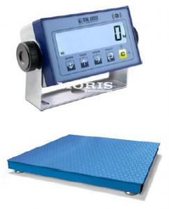 Grindinės svarstyklės su DINI ARGEO indikatoriumi DFWL, 1500 kg, 1.0 x 1.0 m