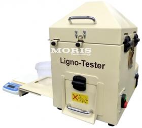 Granulių mechaninio patvarumo nustatymo prietaisas Lignotester