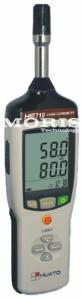 Nešiojamas termometras/higrometras Huato HE710