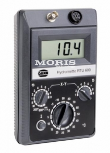 Electronic four-in-one meter Gann Hydromette RTU600