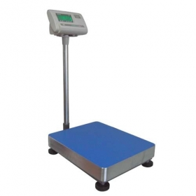 Platforminės svarstyklės su A12-E indikatoriumi, 300 kg, 60x80 cm